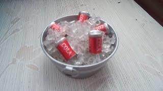 How To Make Miniature Dollhouse Ice