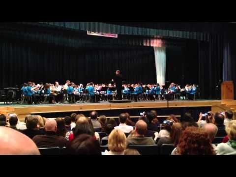 Pennsbury Elementary Honors Band - 03092013