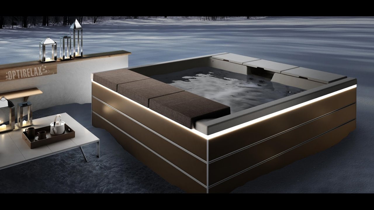 luxus design whirlpool optirelax im boden eingebauter. Black Bedroom Furniture Sets. Home Design Ideas