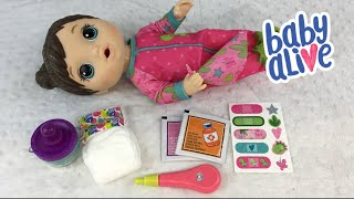 Opening the Brand New BABY ALIVE Mix My Medicine Doll!