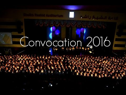 IHS Convocation Video 2k16