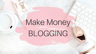 How to Start a BLOG that Makes MONEY thumbnail