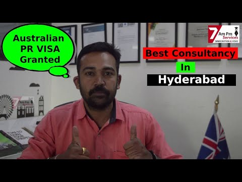 Best Immigration Consultancy In Hyderabad: Australian PR: Canadian PR