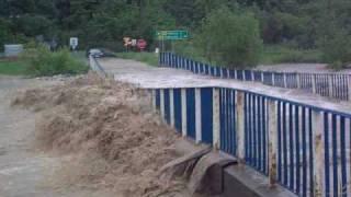 Powódź Muszyna 4.06.2010