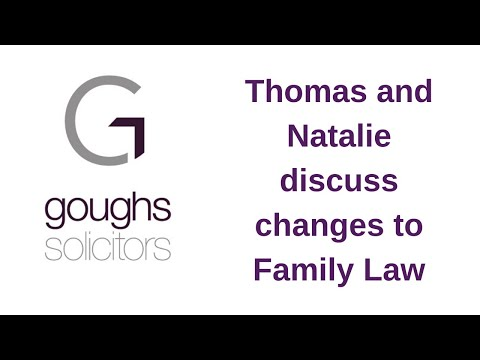 Changes to family law