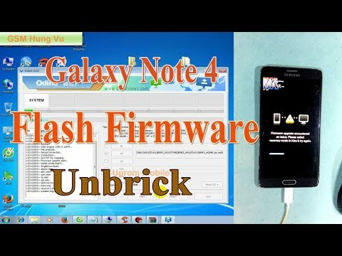 How To Samsung Galaxy Note 4 Sm N910v Firmware Update Fix Rom