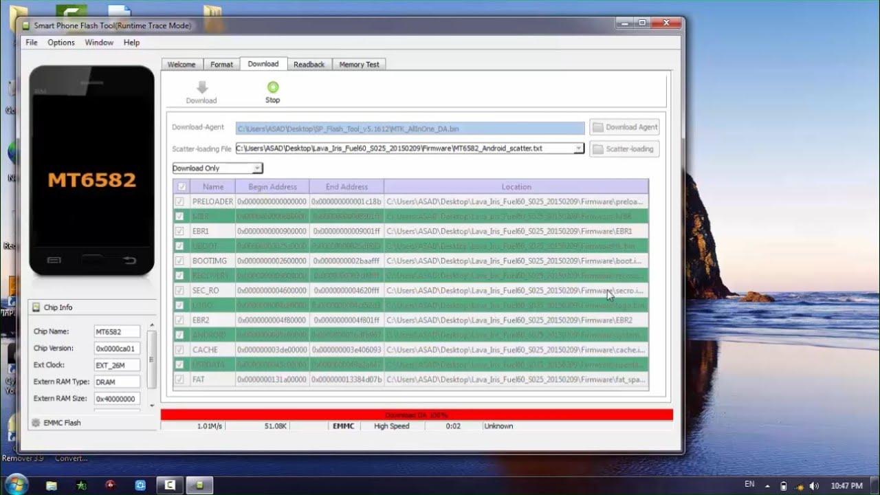 Lava Iris Fuel 60 Flash File Firmware Stock ROM 100% Tested