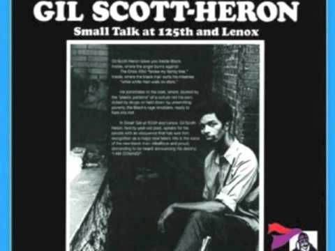 Introduction The Revolution Will Not Be Televised [Small Talk At 125th and Lenox] - Gil Scott-Heron