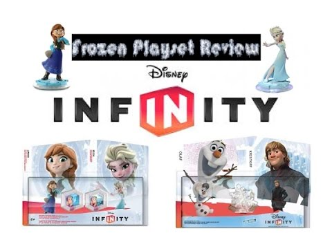Disney Infinity Frozen Playset Review Youtube