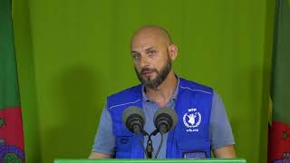 Oct. 4 - Press Briefing: Matteo Perrone - World Food Programme (WFP)