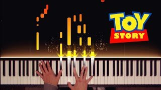 Toy Story: You've Got a Friend in Me (Stride/Ragtime Piano)