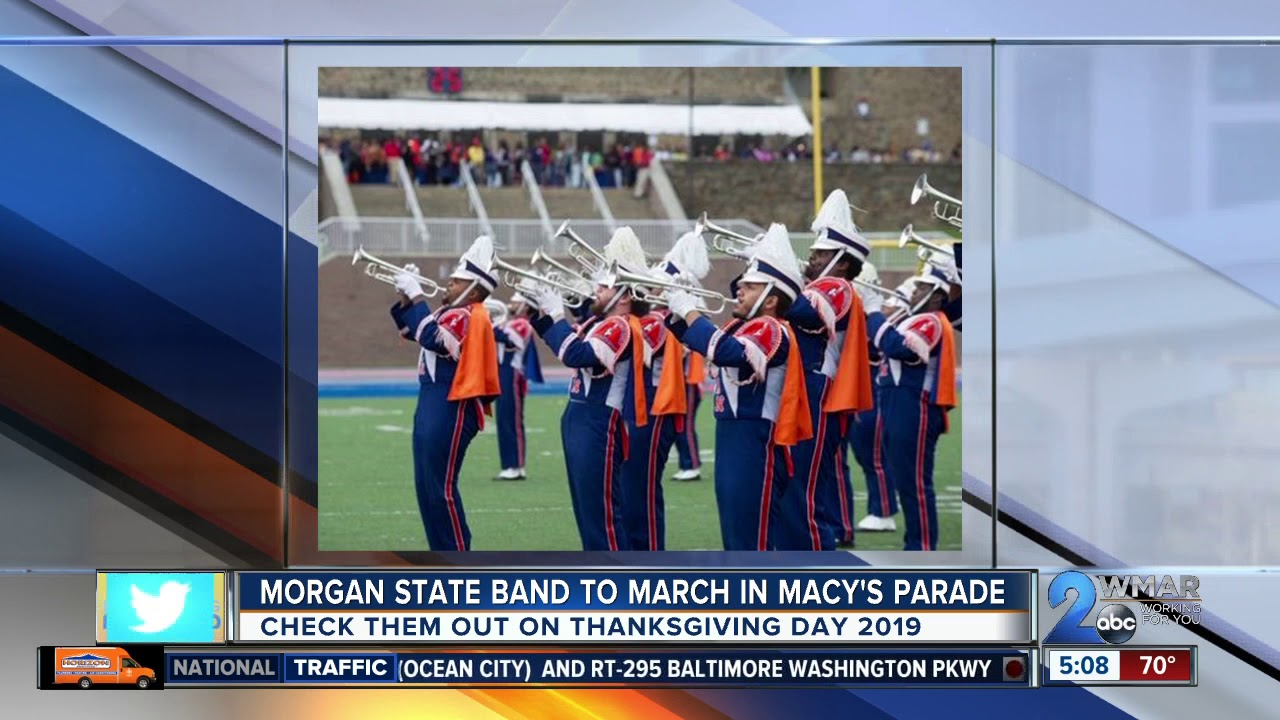 ba7e2e86322 Morgan State band to perform in 2019 Macy s Thanksgiving Day Parade ...