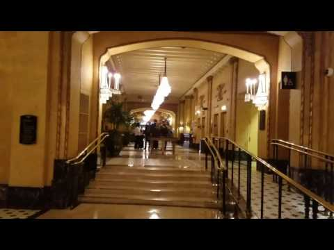 The Roosevelt New Orleans Lobby