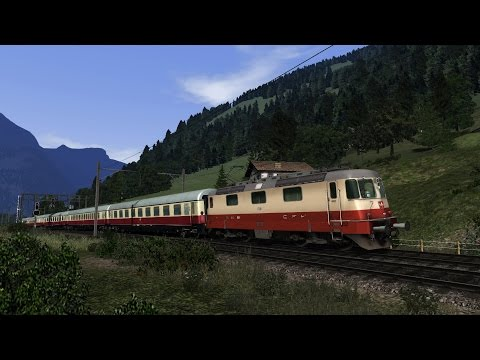 Gotthard Panoramic Route (GPR) for TS2017 – TrainworX