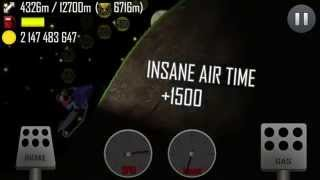 hill climb racing night on snow mobile 7911 meters