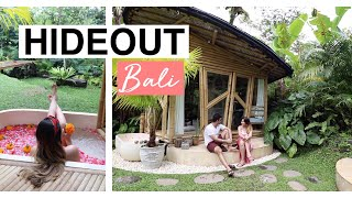 Gambar cover The Coolest Bamboo AirBnB Tour: HIDEOUT | UBUD BALI 2019