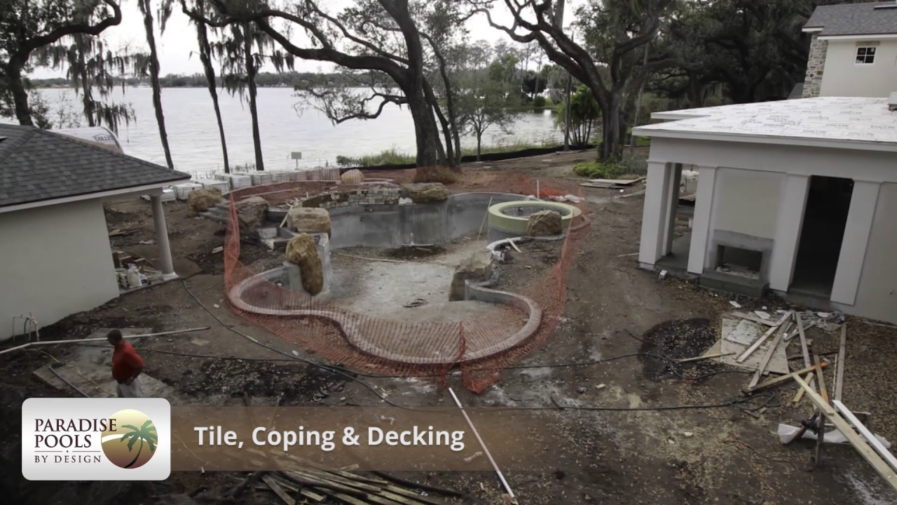 Paradise Pools By Design Construction Timelapse (Orlando, FL)