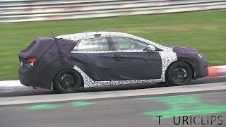 2015 Hyundai i40 CW spied testing on the Nrburgring