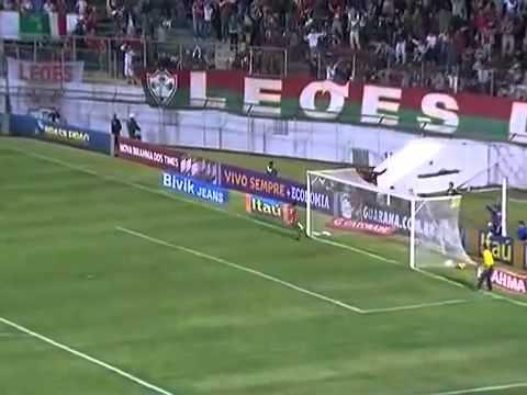 Os gols Portuguesa 3x0 Santos hoje dia 06/10/2013