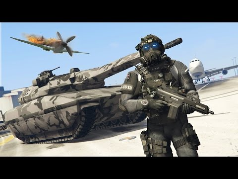 GTA 5 PLAY AS A COP MOD - FUTURISTIC SWAT POLICE FORCE!! SWAT Police