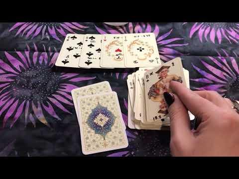 Расклад пасьянс на работу (игральные карты)