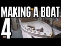 How to Build a Small Wooden Boat #4 without Marine Plywood Electric Powered - Laminated Gunnals