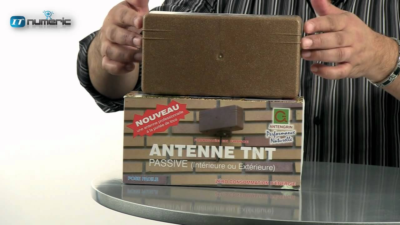 Antenne tnt hd antengrin k1001 youtube for Orientation antenne tnt exterieur