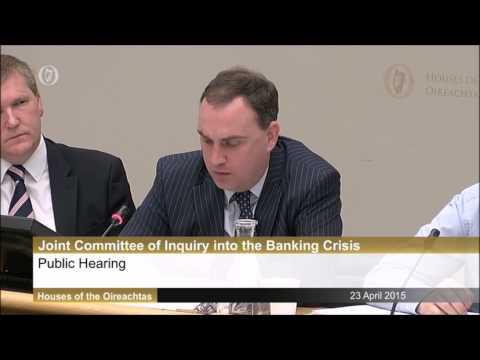 Dermot Gleeson – Former Chairman, Allied Irish Bank at the Banking Inquiry
