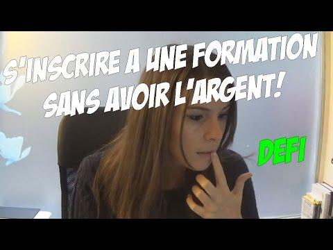 S'INSCRIRE A UNE FORMATION SANS AVOIR L'ARGENT