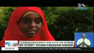 Leyla Mohammed's rendition of 'Wimbo wa Historia' captures hearts