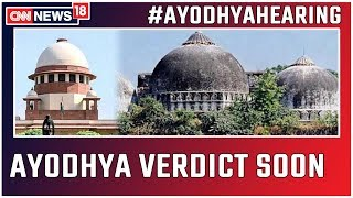 Ayodhya Case LIVE: SC Bench To Conduct Closed-Door Proceedings Tomorrow