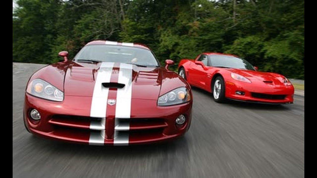 Dodge Viper Comparison Test Car And Driver