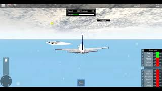 Flying the A320 In SFS I Roblox