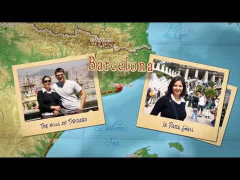 New version of Our Spanish Adventure Travel Movie