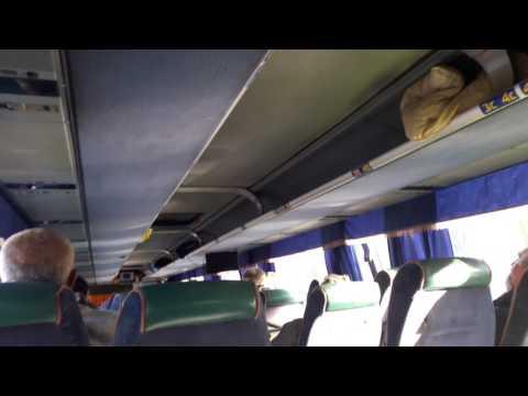 Конченные автобусы Евротранс Москва-Ставрополь за 3200 рублей.