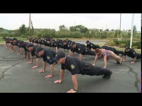 Missouri State Highway Patrol pushups