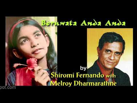 BORUWATA ANDA ANDA by Shiromi Fernando with Melroy Dharmarathne