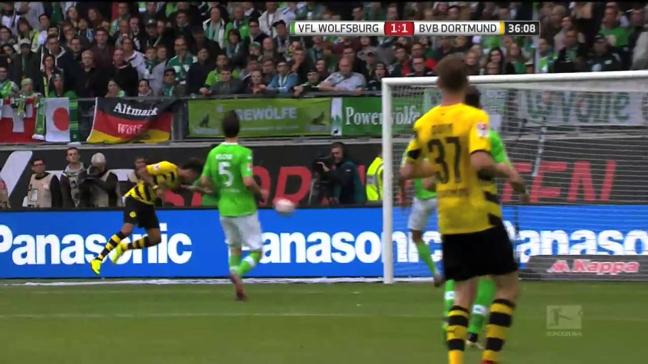 Wolfsburg Vs Borussia Dortmund Youtube