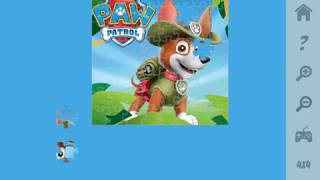 Мультик игра Щенячий патруль: Трекер (Paw Patrol Tracker Jigsaw)