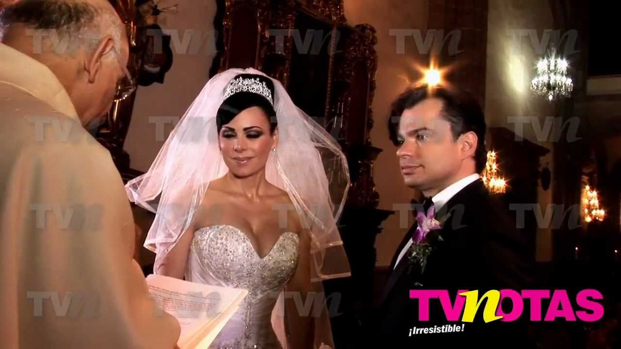 Vestido de novia de maribel guardia