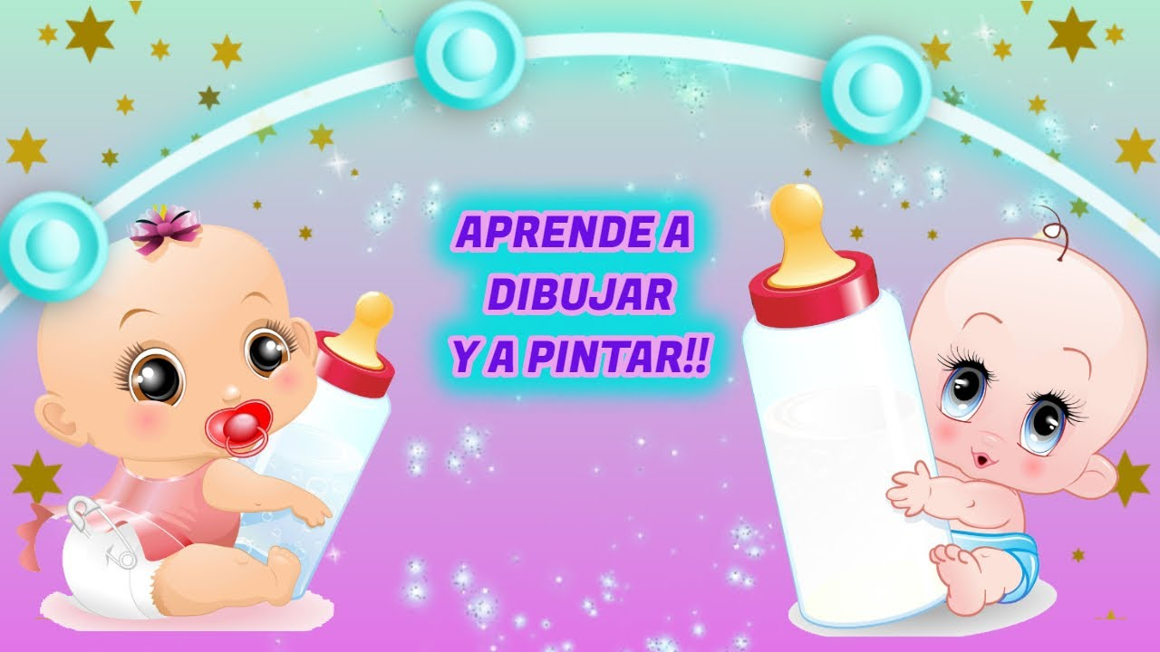 APRENDE A DIBUJAR Y PINTAR CONMIGO, TE DIVERTIRAS!! - TODO PARA NIÑOS