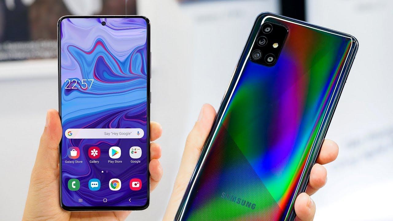 Samsung Galaxy A51 Galaxy A71 Official Youtube
