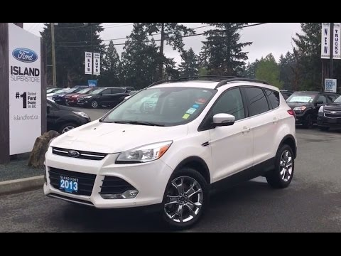 2013 Ford Escape SEL, Accident Free, One Owner, AWD + Backup Camera Review |Island