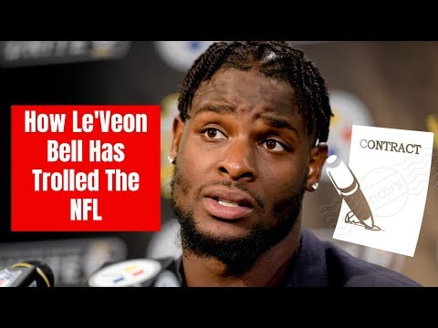 This Is How LeVeon Bell Has Trolled The NFL And The Steelers