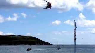 Rescue 117 & Irish Coast Guard Boat