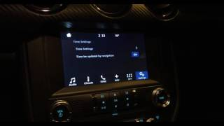 2016 Mustang Moddiction Nav Unit Time Issues