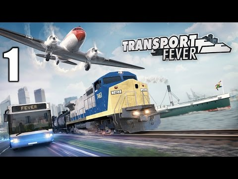 Transport Fever #1 Die Deutsche Bahn kann einpacken! | Let's Play Deutsch | Gameplay German