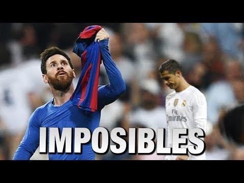 Top5 Goles Imposibles de Messi que Cristiano Ronaldo no puede hacer