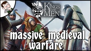 MASSIVE MEDIEVAL WARFARE - Of Kings & Men Gameplay