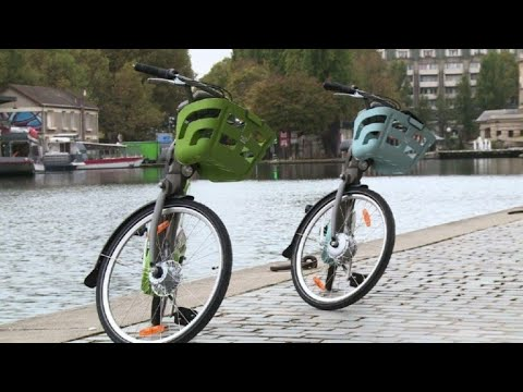 New Vélib' cycle-for-hires unveiled in Paris